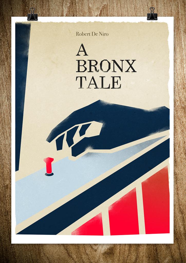 bronx3 A Bronx Tale, Kill Bill, Cape Fear   Posters by Rocco Malatesta