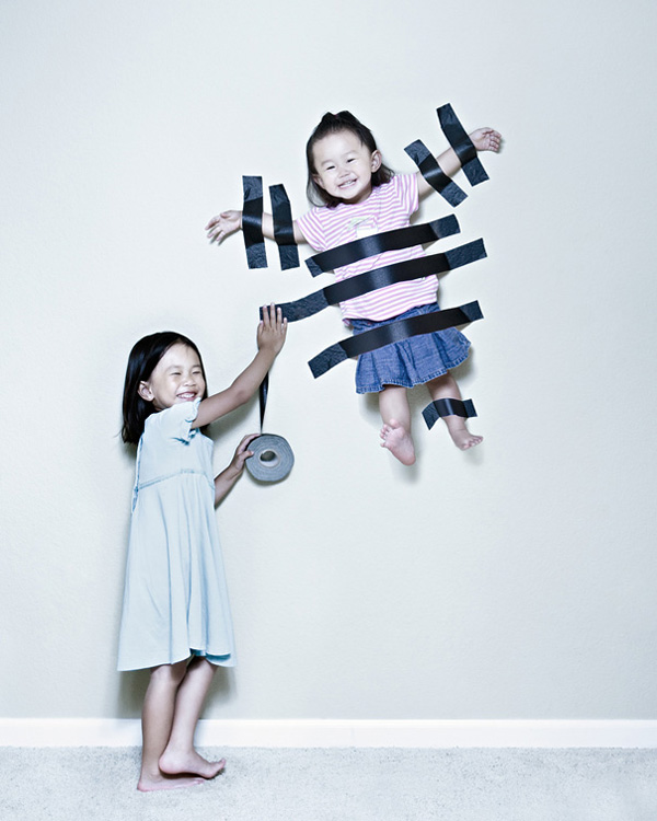 creative child photography jason lee 1 Dad Takes Playful Photos of Daughters
