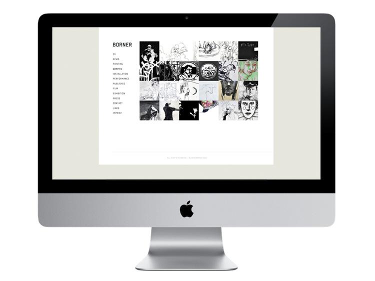 dyt Oliver Borner Portfolio Website