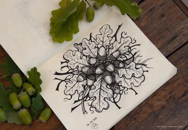 f36e1480c92a90464fa75fca61e7230611 Sketchbook Illustration Drawings by Irina Vinnik