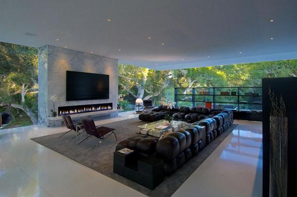 living room glass pavilion