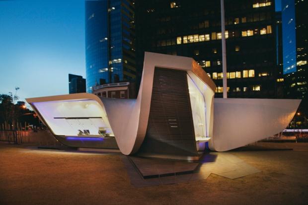 i1a50 UNstudio: new amsterdam plein & pavilion