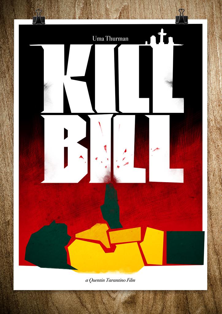 killbillposter1 A Bronx Tale, Kill Bill, Cape Fear   Posters by Rocco Malatesta