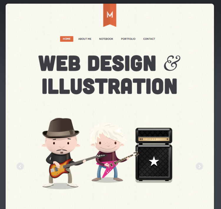 matt hamm web typography css 750x710 Beautiful CSS Typography Examples One Must See