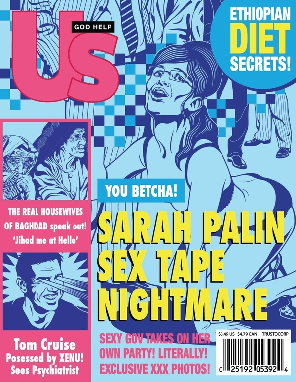 nightmare covers sarah palin kiosk Nightmare Cover
