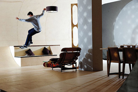 pas skateboard house 25 A Skateboarder's Dream Home