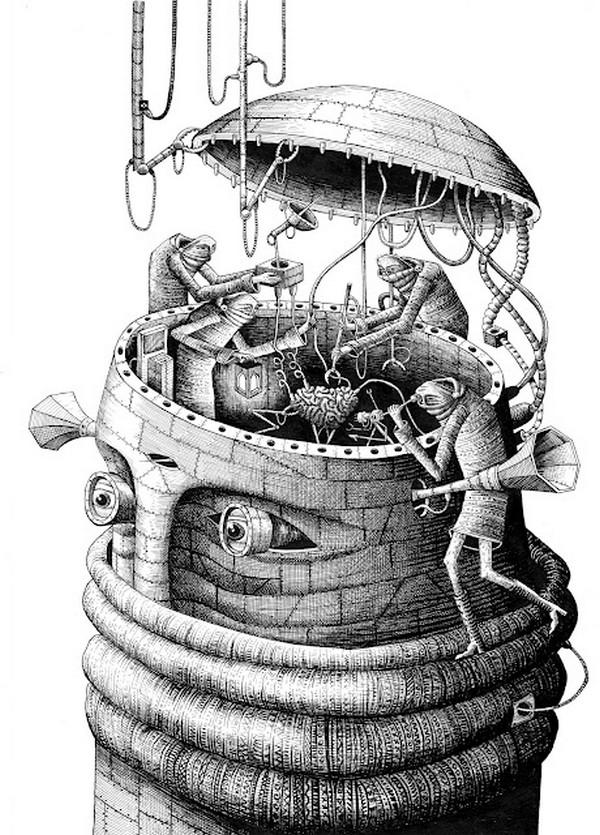 ph1 Illustrations by Phlegm