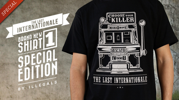 slide the last internationale 02 BRAND NEW SHIRT TLI by ILLEGALS