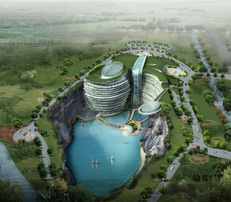 tumblr m2kt5hP5fO1rse1ipo1 500 China builds a luxury underground hotel