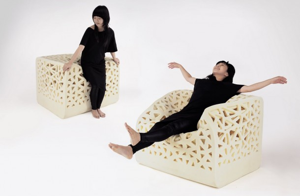 The Breathing Chair by Yu Ying Wu