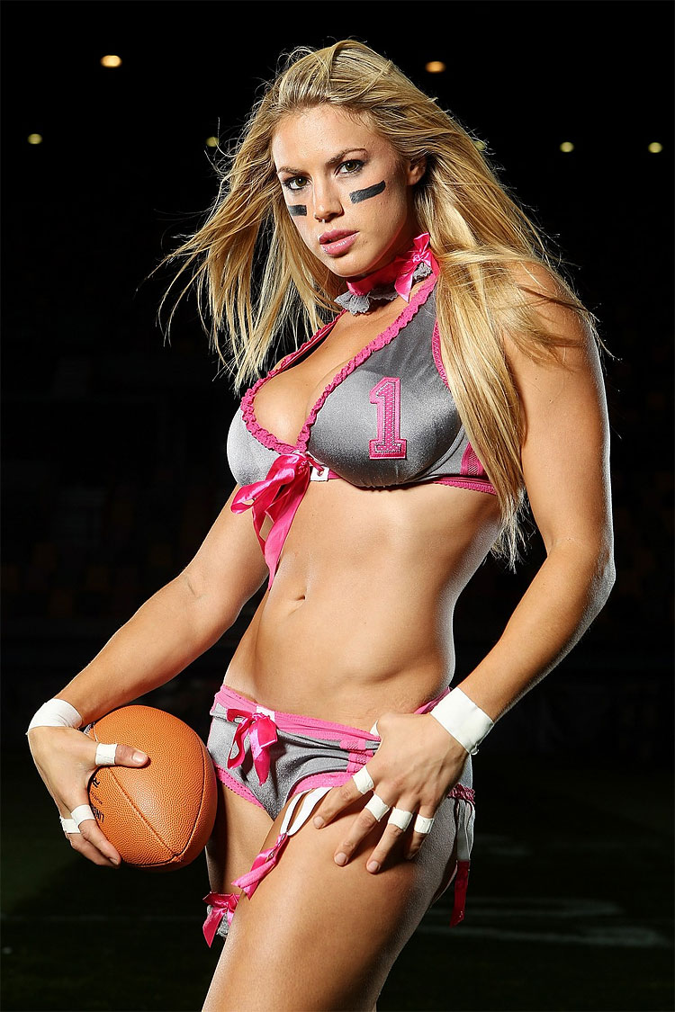 Lingerie Football League Media Call-7094