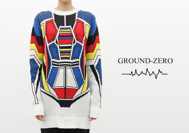 1o5 Gundam sweater by Ground Zero