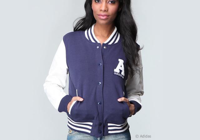 1o77 Adidas varsity jacket