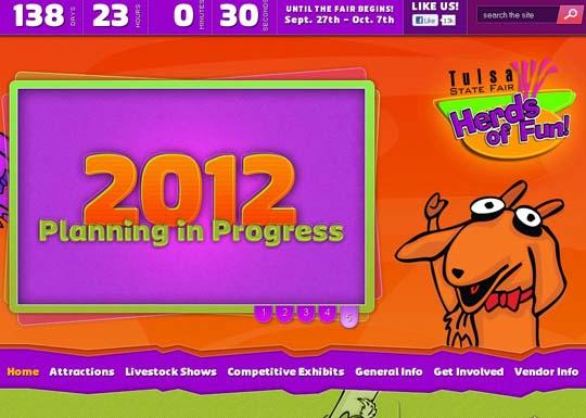 24.orange color websites Orange In Web Design:36 Inspiring Examples