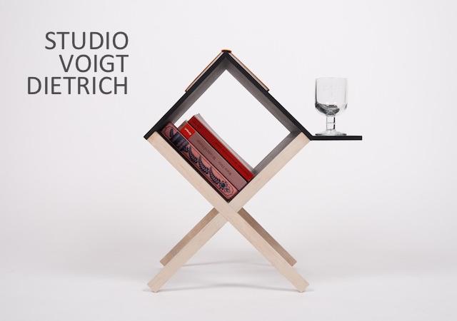 2o1 Buchtisch by Voigt Dietrich