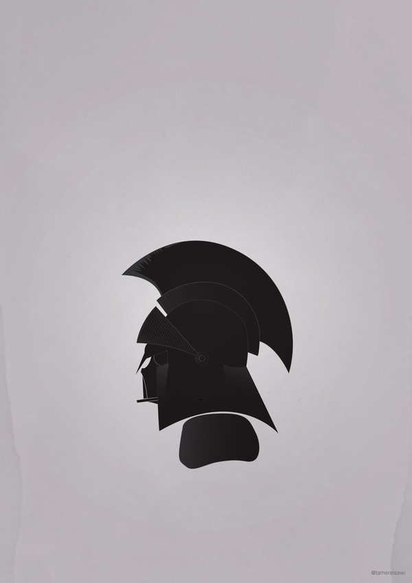 43c78a9cb3de54e06bfdf37087af6a58 Vadarisim   A playful vector collection using Darth Vader's helmet.