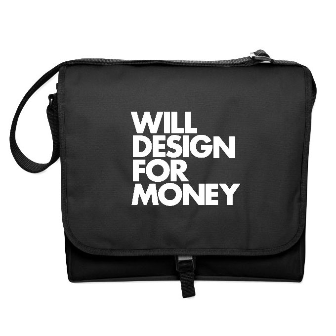 DESIGN FOR MONEY MESSENGER BAG Will Design For Money Messenger Bag