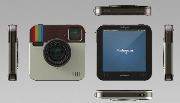 Instagram Socialmatic Camera 01 Instagram Socialmatic Camera