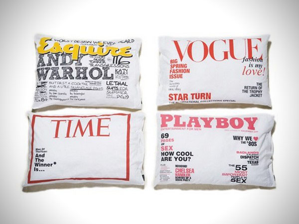 Magazine Pillow Case 2 Be A Star For The Night Pillowcases