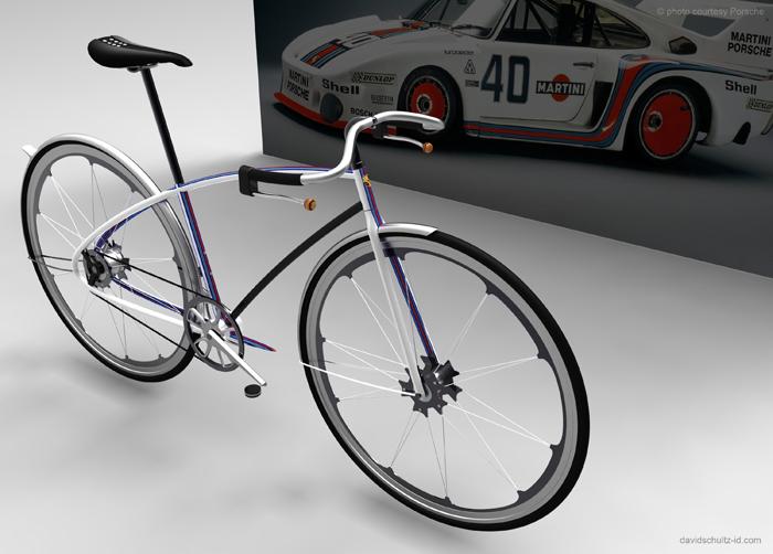Porsche Bike Martini7001 Porsche bike concept