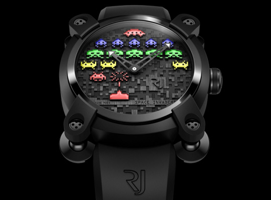 Romain Jerome Space Invaders Watches 1 Space Invaders Watch by Romain Jerome