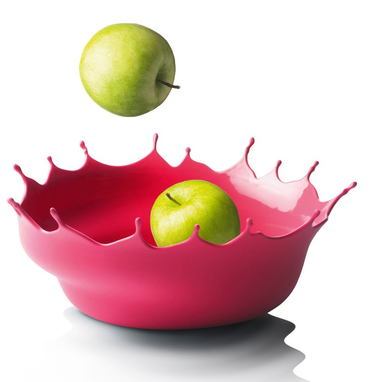 Schale Dropp neored 01 750x750 Splashing Fruit Bowl by Niels Römer