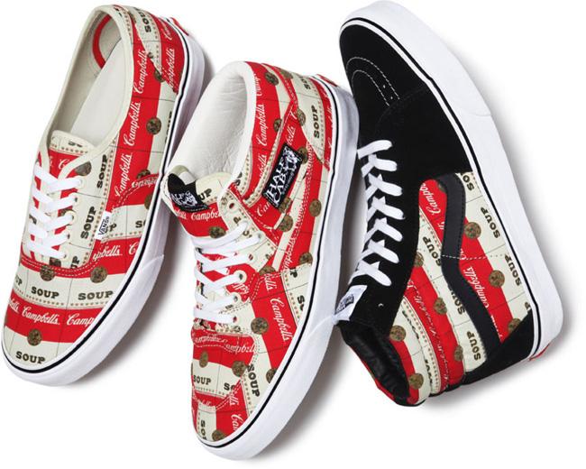 Vans Supreme Campbells Vans x Supreme Campbells Soup Sneaker Pack