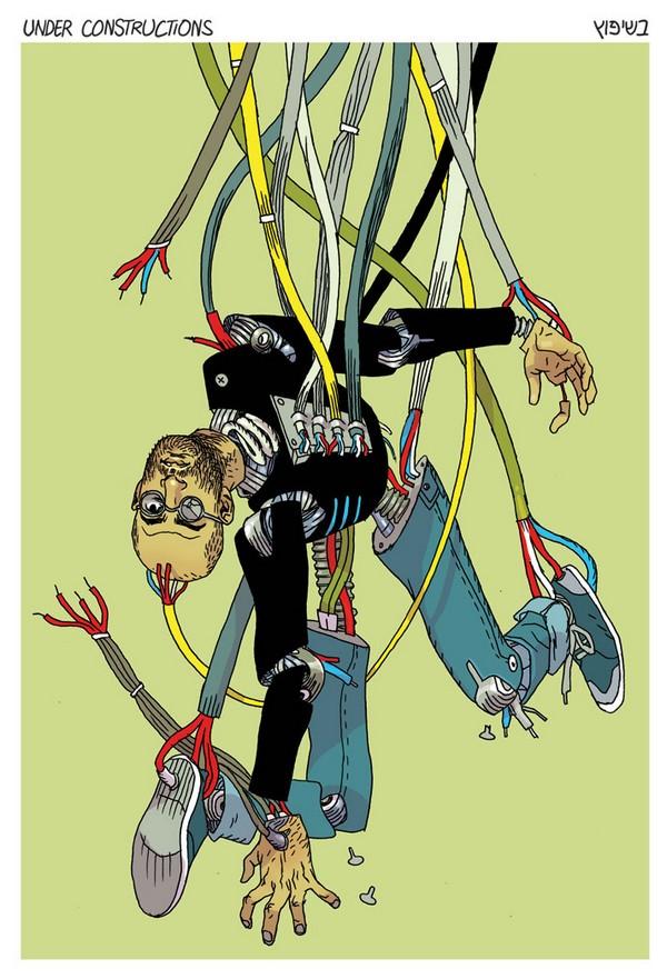 asaf1 Illustrations by Asaf Hanuka