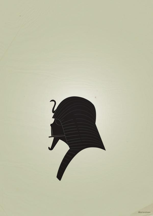 bedb84f8270bffdc05bec2e984269e9b Vadarisim   A playful vector collection using Darth Vader's helmet.