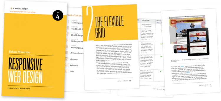 best responsive web design book 750x345 Best Books On Web Design