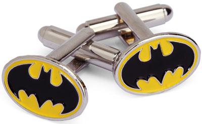 de04 batman cufflinks Batman Cuff Links