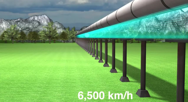 evacuated tube transport 1 Space Travel on Earth – From New York to Beijing in 2 Hours