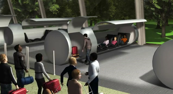 evacuated tube transport system enpundit 2 Space Travel on Earth – From New York to Beijing in 2 Hours