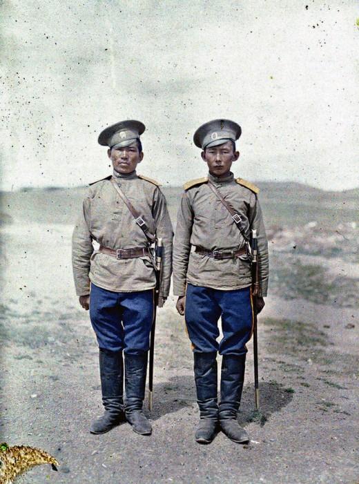 i1a218 MONGOLIA IN COLOUR (1913)