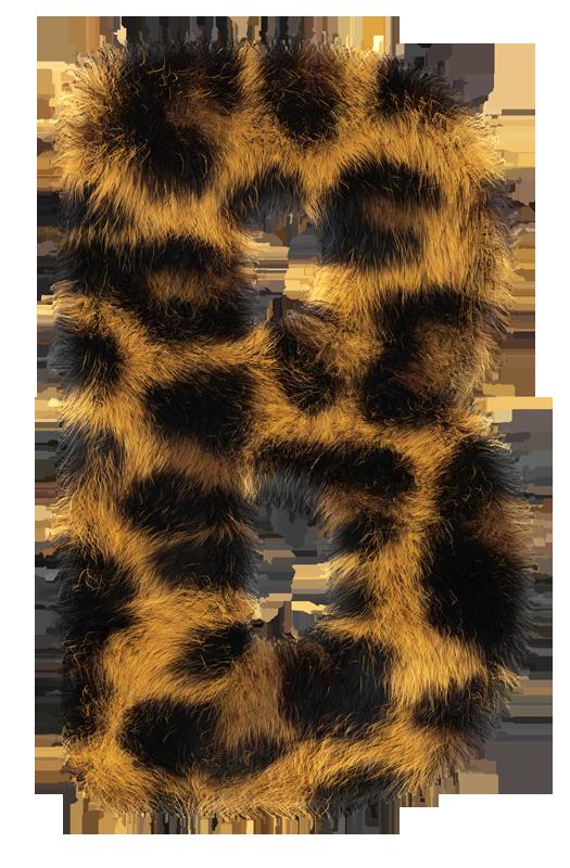 leopard poster2 Leopard. Handmade Font.