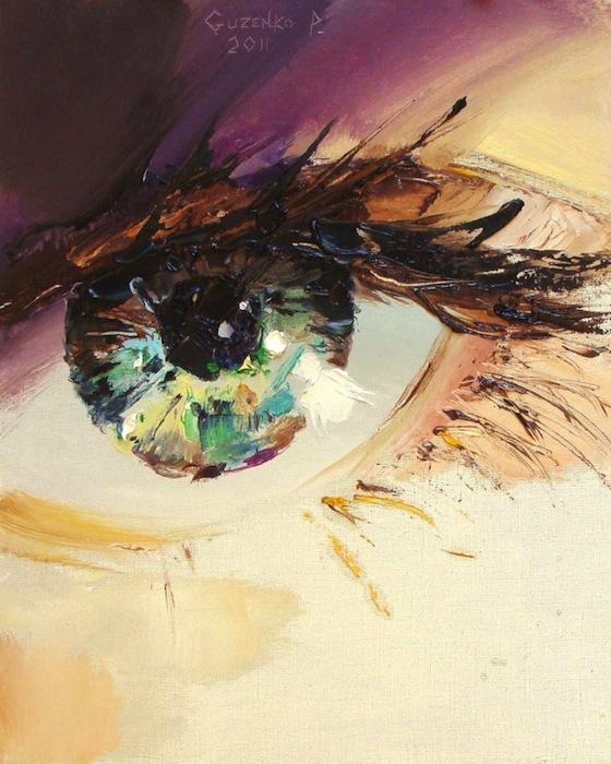pavelguzenkoeyepaintings2 Spectacular Oil Paintings of Twinkling Eyes