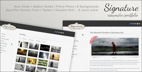 premium resume templates 01 Premium Resume Templates Design