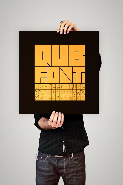 qub3 QUB font