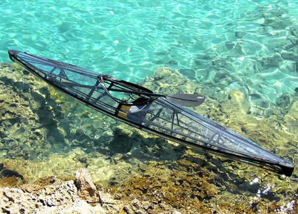 transparent canoe kayak 3 Policarbonate Transparent Kayaks And Canoes