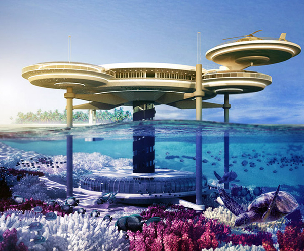 water discus underwater hotel 1 Unbelievable Underwater Hotel in Dubai… 21 Stories Deep