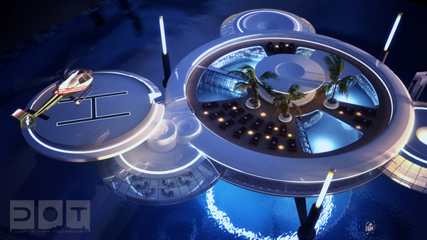 water discus underwater hotel 5 Unbelievable Underwater Hotel in Dubai… 21 Stories Deep