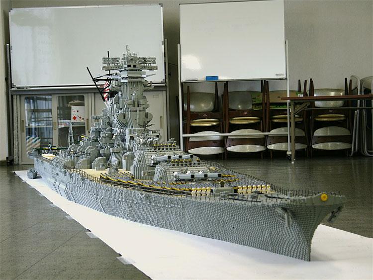 1105 Lego Battleship Yamato Is Biggest Lego Ship Ever