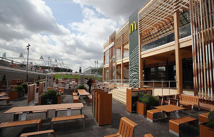 Saída de 1229 Worlds Biggest McDonald para Abrir em Londres