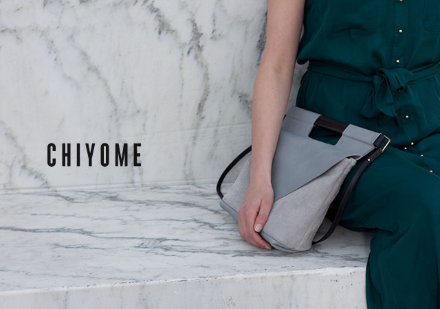 1o39 Chiyome bags collection one