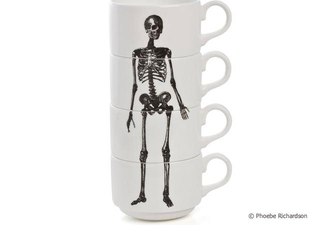 1o8 Skeleton espresso cups