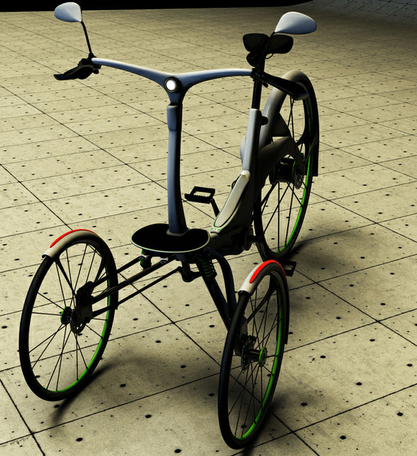 236 Kaylad 2.0 Electric Tricycle