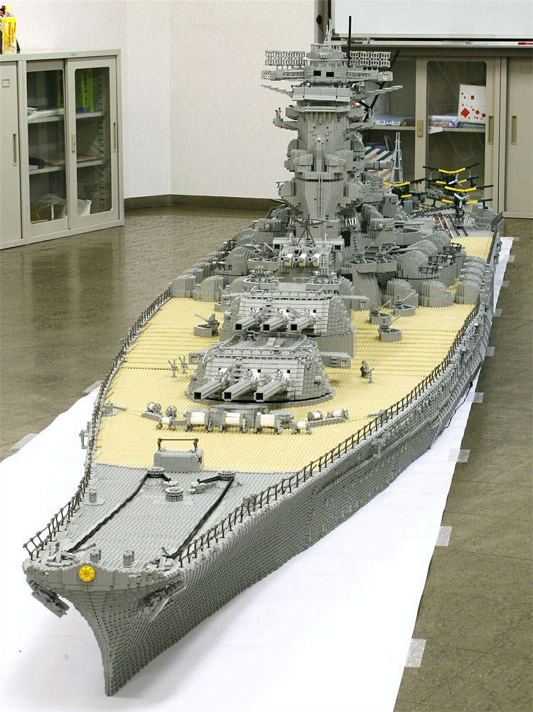 266 Lego Battleship Yamato Is Biggest Lego Ship Ever