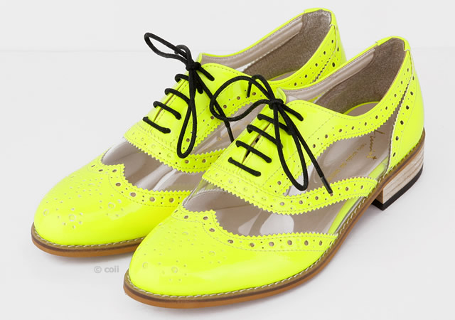 2o7 Fluo derby shoes by Coii