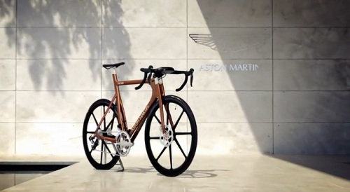 One 77 Cycle, a limited edition bike created by Aston Martin