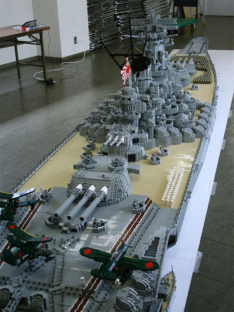 348 Lego Battleship Yamato Is Biggest Lego Ship Ever